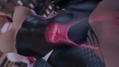 Spider Gwen vs Venom Hentai